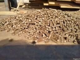 Древесные пеллеты из сосновых пород А1-А2, 15 кг