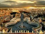 Экскурсии по Риму, пешие и на автомобиле.
