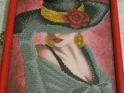 Картины вышитые бисером в наличии и под заказ