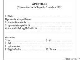 Легализация документов в Италии - фото 1