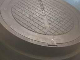 Люки смотровых колодцев полимерпесчаные - photo 2
