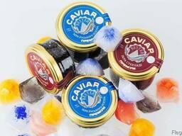 Natural black caviar of Russian sturgeon - фото 3