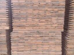 Pallet Billets 22х143/98x1200(dried in chamber drying); - фото 4