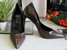 Продается брендовая , из кожи питона , женская обувь - фото 3