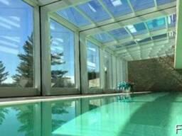 Прозрачные раздвижные крыши, зимние сады, мобильные павильон