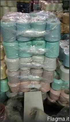 Пряжа сток в Италии оптом. Текстильный агент по пряже.
