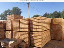 Sawn timber, bars, pallet elements