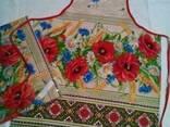 Скатерти , полотенца в украинском стиле, хлопок - фото 2
