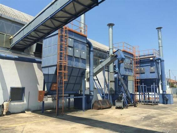 Завод по переработки резины (шин) в крошку