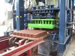Б/У автоматический вибропресс блок машина KVM 300 м2 Дания - photo 1