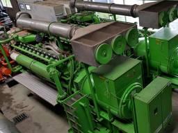 Б/У газовый двигатель Jenbacher 616 GS С87, 2000 Квт, 1997 г