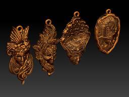 Bronze souvenirs. Statuettes, thimbles, trinkets, keychains. - фото 8