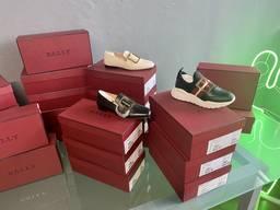 Burberry, Armani, Bally shoes