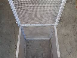 Crimped steel wire mesh and products made of it - фото 4
