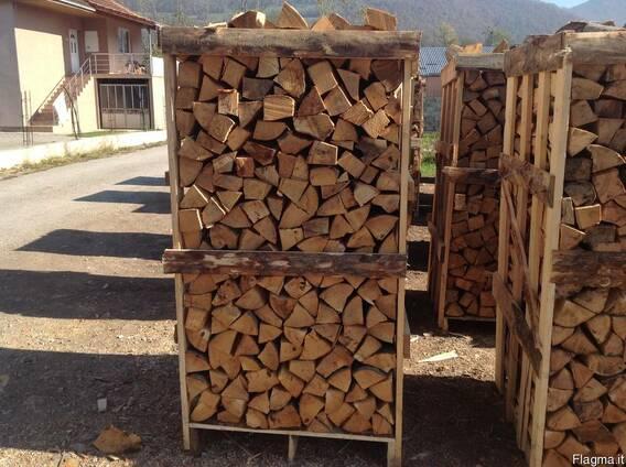 Дрова для каминов сухие 33 см , на Италию