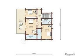 Экологический дом из архангельской сосны под ключ до 500м2 - фото 4