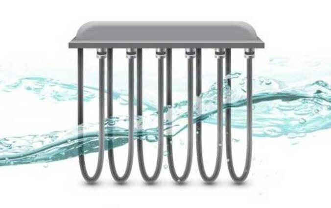 Electric heaters for galvanic and chemical processes.