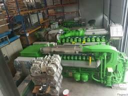 Б/У газовый двигатель Jenbacher J 620 , 2 800 Квт, 2001 г.