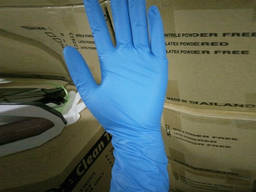 Gloves, nitrile, latex