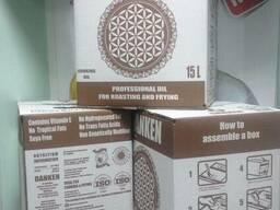 Масло подсолнечное высокоолеиновое в 15 литровых bag in box. - фото 3