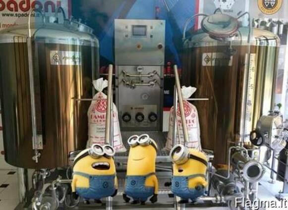 Оборудование для производства пива.