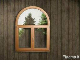 Окна и двери из евробруса
