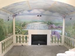 Роспись стен и потолка, мебели, колонн - photo 5