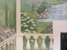 Роспись стен и потолка, мебели, колонн - photo 7