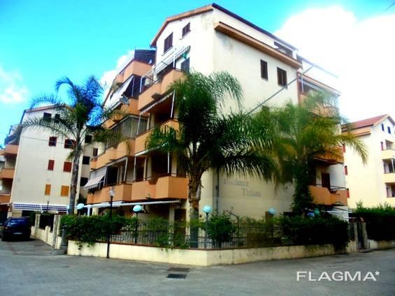 Scalea, квартира, 400м до моря, 2 спальни!