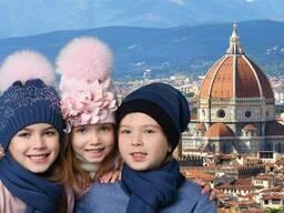 Шикарные детские шапочки итальянского бренда Trenino