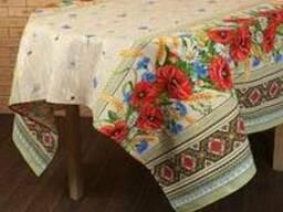 Скатерти , полотенца в украинском стиле, хлопок