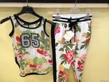 Сток летней детской фирменной одежды - фото 1
