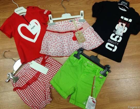 Сток летней детской фирменной одежды