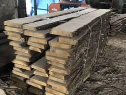 Tavole di quercia non tagliate fresche (diverse dimensioni)