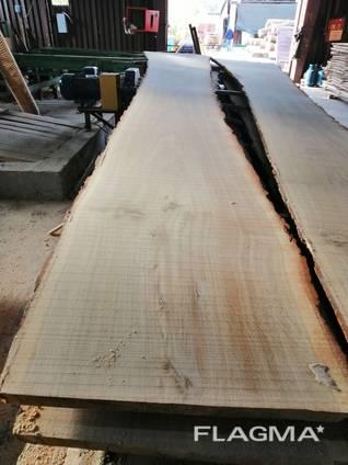 Unedged lumber