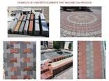 Блок-машина для производства тротуарной плитки R-1000 Швеция - фото 8