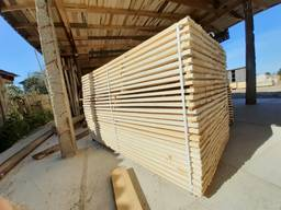 We sell sawn timber, bords, blanks Aspen